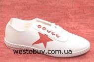 Мокасины женские на шнурках 9825c