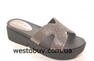 Шлепанцы женские широкие перепонки XQ55003a