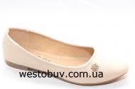 Женские балетки с острым носочком T3