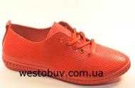 Женские мокасины на шнурках FC202-4