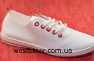 Мокасины на шнурках для женщин 892-2