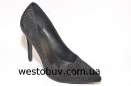Женские  черные туфли G126