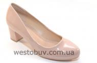 Женские туфли бежевая экко-кожа JL725-5