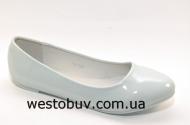 Балетки белоснежные для женщин JXA-004b