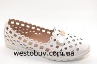 Балетки женские бантик  L012