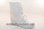 Белые весенние ботинки  NC 43