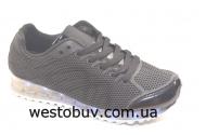 Кроссовки черные женские 7-p7933A-12