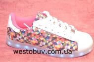 Кроссовки женские разноцветные 7-p79322A-12