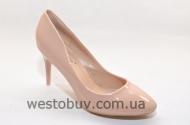 Женские туфли бежевого цвета LE020
