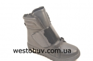 Ботинки  женские на шнуровке 556
