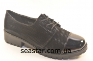 Женские комбинированные туфли C-238