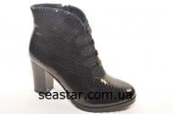 Sea Star Лаковые женские ботинки CT808