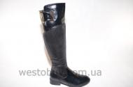 Зимние комбинированные женские сапоги k095-1A