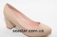 Бежевые туфли для женщин B653b