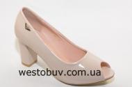 Туфли женские открытый носок  B870
