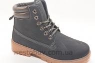 Ботинки  зимние женские на шнурках  BL68a