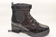 Ботинки  женские липучка 62062
