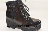 Ботинки  женские на модной подошве  L&L K60012